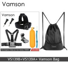 Vamson Accessories for Gopro Hero 6 5 4 Set Kit Screw Head Chest Strap Floaty