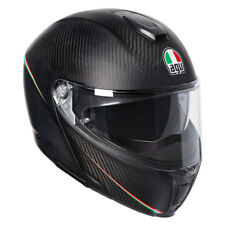 AGV Deportivo MODULAR TRICOLOR MATE CARBON/ITALIA CASCO Panel Frontal