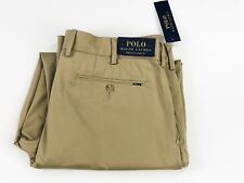 Ralph Lauren Stretch Classic Fit Boatang Khaki Chino