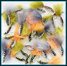 Assortment Epoxy Minnows Fry Trout Fishing Flies UK HOOK Sizes 6 8 10 12 Q 10 25