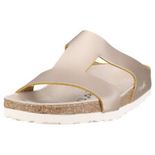 Birkenstock Charlize Papillio Narrow Fit Womens Rose Gold Leather Sandals