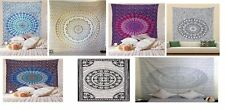 Indian Wall Hanging Decor Bohemian Hippie Twin Bedspread Throw Mandala Tapestry