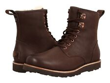 UGG Men's Stout (Brown) Leather Hannen TL Ankle Boots. Size UK 8, UK 10