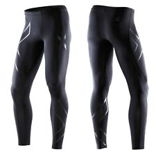 2XU Men Recovery Compression Tights MA1959a S M L XL Black Tri Triathlon Cycling