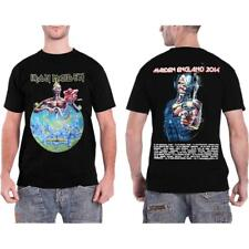 OFFICIAL LICENSED - IRON MAIDEN - ENGLAND 2014 TOUR T SHIRT METAL EDDIE
