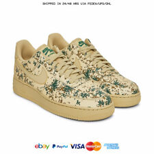 "NIKE AIR FORCE 1 AF1 '07 LV8 LOW ""CAMO PACK"" GREEN"