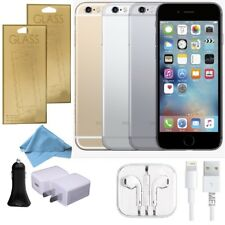 Apple iPhone 6 (Factory Unlocked) FULL BUNDLE Space Gray Gold Silver GSM