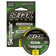 Monofilo Colmic Seaguar Secol Match Soft Fluorocarbon 100% Made in Japan 50 Mt