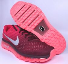 Nike Air Max 2017 Mens Night Maroon Red Running Shoes Size 10 10.5 | 849559-601