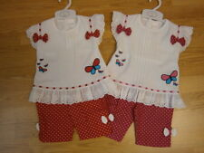 Baby Girls Leggings and Top Set / Outfit.
