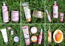 NEW CHAMPNEYS HEALTH SPA NEXT JUST PINK SOAP & GLORY BODY SHOP BATH, LOTION ETC