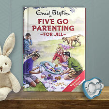 Personalised Enid Blyton FAMOUS FIVE for Grown Ups FIVE Go PARENTING New Baby