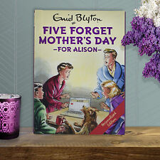 Personalised Enid Blyton FAMOUS FIVE for Grown Ups - Five Forget Mother's Day