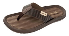 Mens Rider Flip Flops Dunas Beach Slip On Sandals - Brown - RRP: £31.95