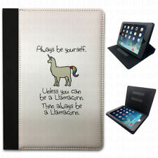 llamacorn Llama unicornio MIX DIVERTIDA LOL abatible FUNDA CARCASA TABLET