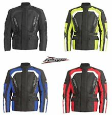MENS MOTORBIKE RST ALPHA IV 4 MOTORCYCLE CE ARMOUR TEXTILE WATERPROOF JACKETS
