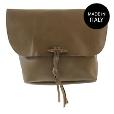 Borsa a tracolla da donna in vera pelle morbida made in italy 80008
