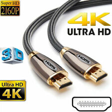 PREMIUM HDMI Cable v2.0 0.5M/1M/1.5M/2M-5M High Speed 4K UltraHD 2160p 3D Lead