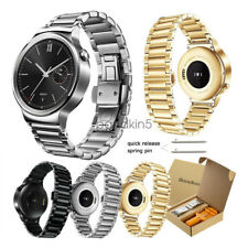 Butterfly Replacement Stainless Steel Link Wristwatch Band for Huawei SmartWatch