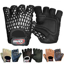 New Style Pro Cycling Half Finger Gloves Net Max5 Adjustable Strap Bicycle Glove