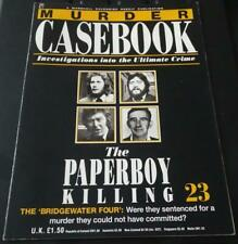 MURDER CASEBOOK - ISSUE 1 TO 60 - MARSHALL CAVENDISH PARTWORK - PICK AN ISSUE