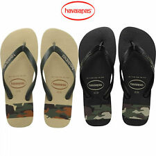 havaianas top stripes logo infradito uomo estate 2018 nero e beige mare