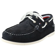 Tommy Hilfiger Classic Suede Hombres Midnight Navy Ante Nauticos