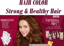 Fantasy Flirt Hair Dye, 3 Oils Up to 8 Weeks Lasting Effect 100% Grey Coverage