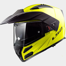 LS2 CASCO URBAN COMMUTER METRO EVO FF324 SOLID H V YELLOW MODULAR