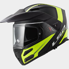 LS2 CASCO URBAN COMMUTER METRO EVO FF324 RÁPIDO MATT BLACK H V YELLOW MODULAR