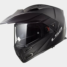 LS2 CASCO URBAN COMMUTER METRO EVO FF324 SOLID MATT BLACK MODULAR