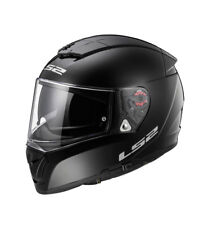 LS2 Helmets - Casco integral  Breaker FF390 Solid Black Pinlock Max Vision in...