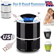 Home Fly Bug Zapper Mosquito Insect Killer USB LED Light Trap Lamp Pest Control