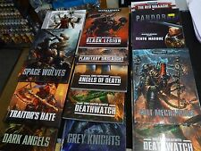 Warhammer /40K Codexes and related 40000  Books. Various, Games Workshop    M13