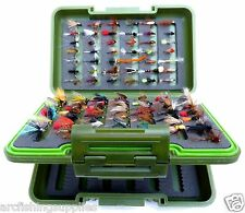 GN Fly Box & Trout Fishing Flies Birthday Christmas Present Gift Idea