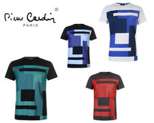 Mens Pierre Cardin Cardin Colour Block Pattern T-Shirt