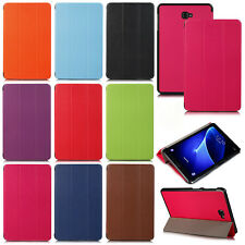 "Flip Case Cover Smart Magnetic For Tab Samsung Galaxy A6 10.1"" Inch T580/T585"