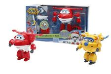 GIOCHI PREZIOSI GRW09000 SUPER WINGS DONNIE JETT TRASFORMABILE PARLANTE NEW 2016