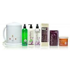 Hive of Beauty - No.1 Wax Heater 1 Litre Warm Honey Wax Kit - Accessory pack