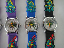 TEENAGE MUTANT NINJA TURTLES WATCH CHILDRENS WRIST WATCH QUARTZ TNMT BAG TOY