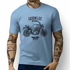 Jaxon Lee Triumph Speed Triple Inspired Motorbike Art T-shirts