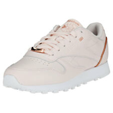 Reebok Classic Leather Hw Womens Light Pink Leather Trainers