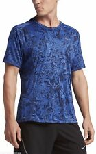 New Nike Dry Men's Miler Short Sleeve Running Top/tshirt/sport top/gym/navy blue
