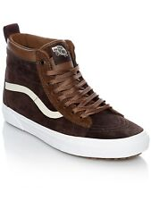 Scarpa Vans SK8-Hi MTE - Sherpa Lined Dark Earth-Seal Marrone