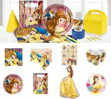UK BEAUTY AND THE BEAST Birthday Party Plates Game Tableware Decorations Cups