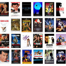 Top 100 Greatest Movie Posters of the 80's Classic Vintage Poster Art A4 Prints