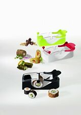 Leifheit Sushi Roller mit Rezeptheft Perfect Roll Party, Fresh, neu, Sushiroller