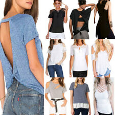Fashion Women Summer T Shirt Short Sleeve Loose Blouse Casual Tops Plus Size Tee