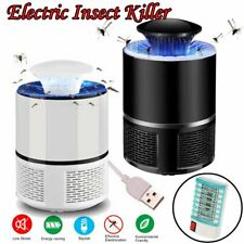 Electric Fly Bug Zapper Mosquito Insect Killer Remover USB LED Light Trap Lamp