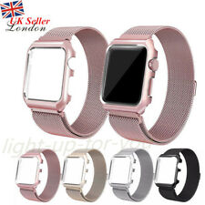 For Apple Watch 42/38mm Milanese Magnetic Loop Stainless Steel Strap iWatch Band